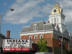 Indiana, Pennsylvania - where Jimmy Stewart was from