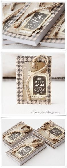 When I saw these notepads, I fell in love with the calmness of them. I would keep my thoughts in these! Mini Scrapbook Albums, Mini Albums, Agenda Book, Handmade Books, Handmade Gifts, Calendar Notes, Post It Note Holders, Album Book, Doodles
