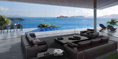 Luxury done right... breathtaking, luxury resorts in Bodrum, Turkey. http://www.home-designing.com/2016/07/breathtaking-luxury-resort-villas-in-bodrum-turkey