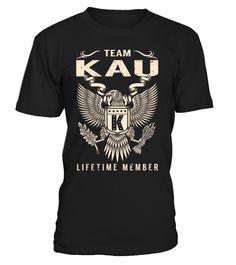 Team KAU Lifetime Member Last Name T-Shirt #TeamKau