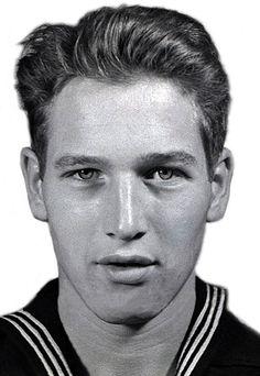 Paul Newman navy photo.