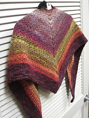 Ravelry: Noro Woven Stitch Shawl pattern by Z apasi