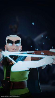 Magic archer shooting. Follow me if you like it