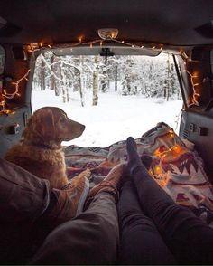 of This looks like life! Life in your van in the . - Jealous of This looks like life! Life in your van in the … -Jealous of This looks like life! Life in your van in the . - Jealous of This looks like life! Life in your van in the … - Van Life . Camping 3, Winter Camping, Camping Hacks, Adventure Awaits, Adventure Travel, Adventure Gear, Tenda Camping, Vie Simple, Photo Instagram