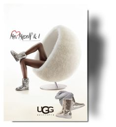 """UGG"" by betiboop8 ❤ liked on Polyvore featuring UGG Australia"