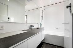 Concrete ramp sink and vanity. || Perth, Western Australia || Concrete Studio