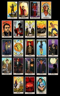 """britaneeleeannart:"""" Thought I'd post the Major Arcana of the SPN tarot together to be seen as a group.Next week I start the Minor. Supernatural Imagines, Supernatural Drawings, Supernatural Bloopers, Supernatural Tattoo, Supernatural Fan Art, Supernatural Wallpaper, Castiel, Supernatural Crafts, Winchester Supernatural"""