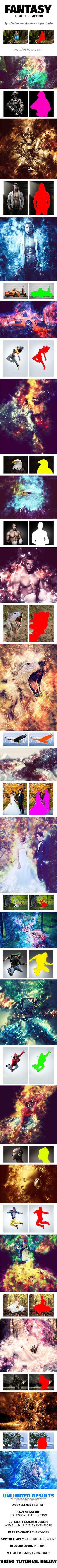 Fantasy Photoshop Action #photoeffect Download: http://graphicriver.net/item/fantasy-photoshop-action/10707714?ref=ksioks