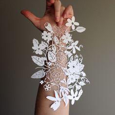 beautiful papercut