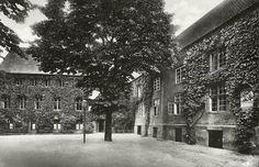 Кёнигсберг. Двор старого здания университета Альбертина на Кнайпхофе