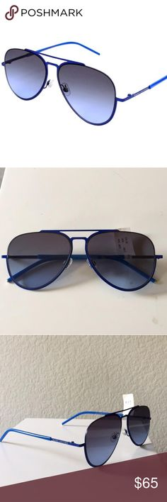 7d94fdab6cd Marc Jacobs MARC38S W3BHL Reference  MARC 38 S - W3BHL Model  Unisex Frame  material  Metal Frame colour  Blue Lens colour  Black Gradient UV  protection  2 ...