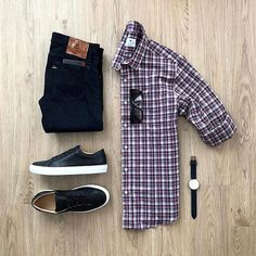 Fireworks watching outfit featuring our most popular red white and blue light flannel. : : The Lumbersmack II Mens Casual Work Clothes, Men Casual, Style Casual, Work Casual, Men's Club Wear, Mens Fashion Blog, Fashion Outfits, Men Formal, Men's Wardrobe