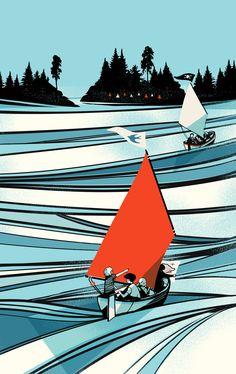 Arthur Ransome 'Swallows and Amazons' by Pietari Posti | Agent Pekka