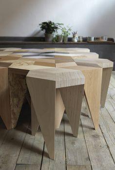 Rayuela is a stool designed by Alvaro de Catalán Ocón.