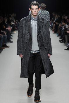 Wilhelmina Models: Matthieu Gregoire for Kris Van Assche, PFW F/W '14 - See more at: wilhelminanews.com