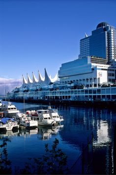 Canada Place and the Pan Pacific Hotel, Vancouver.
