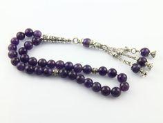 Check out this item in my Etsy shop https://www.etsy.com/listing/226833154/amethyst-gemstone-33pcs-islamic-prayer