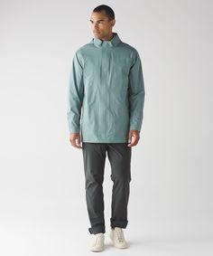 Men's Waterproof Jacket - (Size XL) - Stowen Shell - lululemon