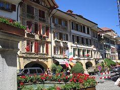 Murten. Kanton Freiburg. Schweiz. / Morat. canton de Fribourg. Suisse.