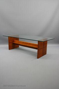 MID Century Coffee Table Rare Solid Teak TH Brown Retro Vintage Parker era in Narre Warren, 360 Modern Furniture VIC | eBay