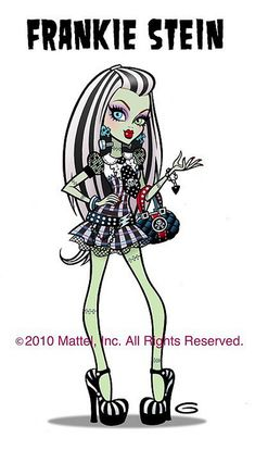 "Monster high ""Frankie Stein"""
