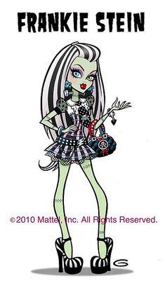 """Monster high """"Frankie Stein"""""""