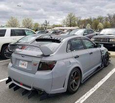 I lie this primer gray color Tuner Cars, Jdm Cars, Pimped Out Cars, Subaru Impreza, Sti Subaru, Hatchback Cars, Car Goals, Subaru Outback, Modified Cars