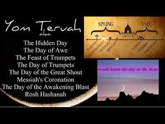 Feast of Trumpets Yom Teruah Rapture 2015 (Full video links in description) Blow the Shofar! Yom Teruah...Feast of Trumpets