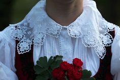 Zubří - typical embroidery