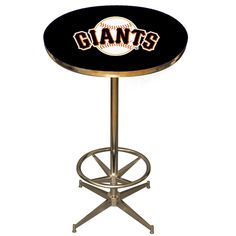 The San Francisco Giants Fan Cave Pub Table by Imperial USA