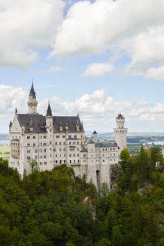 Um dia no castelo de neuchweistein