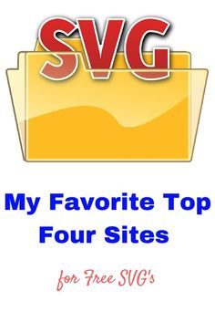 Hi! I am sharing with you my top FOUR sites for free SVG's.
