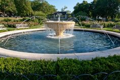 """Loose Park Rose Garden Fountain""  Location: West 52nd Street & Summit, west end of Rose garden, Kansas City, MO  Owner: Loose Park Garden Club  Dates: Originally erected in 1979. Restored in 2002.  Photo Credit: Judith Burngen"