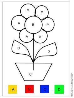 Kindergarten Addition Worksheets, Kindergarten Coloring Pages, Kindergarten Math Worksheets, Preschool Printables, Preschool Activities, Letter Worksheets, Preschool Colors, Preschool Writing, Toddler Learning Activities