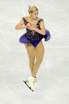 Gracie Gold competes in the Championship Ladies Free Skate Program Competition during day 3 of the 2015 Prudential U. Figure Skating Championships at Greensboro Coliseum on January 2015 in Greensboro, North Carolina. Women Figure, Ladies Figure, Gracie Gold, On Thin Ice, Ice Skaters, Ice Princess, Sports Figures, The Championship, Skating Dresses
