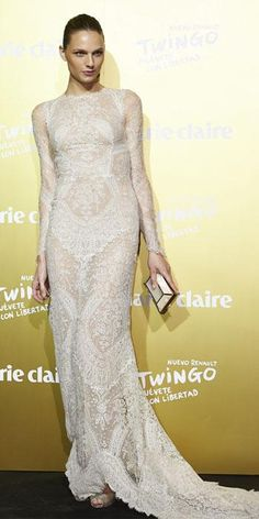 Congrats Andreja Pejic wore an Ermanno #Scervino FW 2015-16 dress in occasion of the Marie Claire #PRIXMC2015 in Madrid #ScervinoCelebs #AndrejaPejic #ErmannoScervino