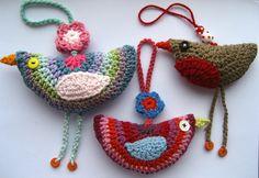 Little Crochet Birdies
