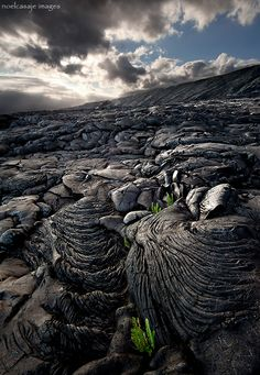 THE  DAY TIME STOOD STILL - HAWAII VOLCANOES NP , BIG ISLAND by noel casaje || Scenery || Landscape || molten || photography