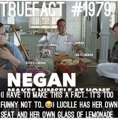 Negan's a little warped. Just a little.