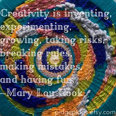 Explore your creativity! Learn to weave   Deluxe loom kits include all youll need to make your own handwoven wall hanging, including color curated yarn samplers and a full color Tapestry Weaving Companion with step by step instructions. pidgepidge.etsy.com