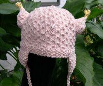 Knit Chicken Viking Hat Pattern