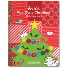 My Very Merry Christmas Coloring and Activity Book   #hoidaygiftguide  #stockingstuffer