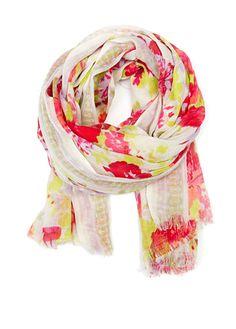 MANGO - Fular estampado floral   9,99€   ref. 73646001 - Cenefa c