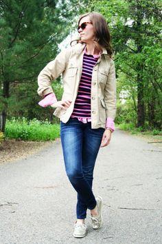 stripes + gingham