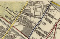 Old map of Nth. Dublin Map, Ireland Travel, Old Pictures, Maps, Antique Photos, Blue Prints, Ireland Destinations, Old Photos, Map