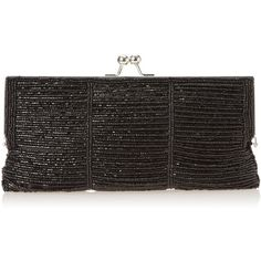 Nina Melli-M Evening Bag ($55) ❤ liked on Polyvore featuring bags, handbags, clutches, chain handbags, evening handbags clutches, evening bags, chain purse and cross-body handbag