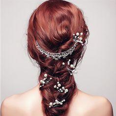 30Pcs Fashion Pearl Hairpins Wedding Bridal Hair Pins The Hair Jewelry Hairwear Hair Clip Barrette Hairstyles Tools #WeddingHairstyles