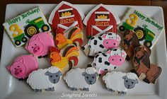 Southern Blue Celebrations: Farm Themed Cupcakes & Cookies