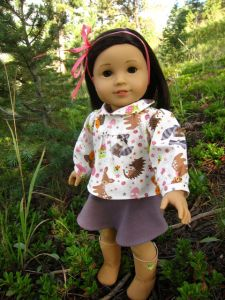 """free top pattern for 18"""" dolls - jenwrenne (see bottom of page)"""