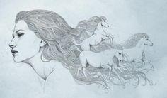 Diego Fernandez . Cavalos.